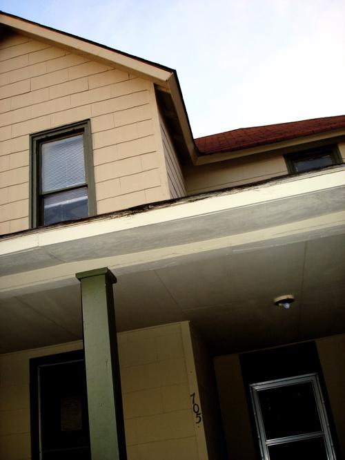 Foyer Window Leak : The real vertical house